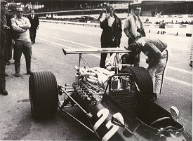 312 F1 - GP Belgio 1968