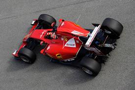 Ferrari F14T di Kimi Raikkonen