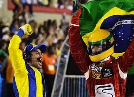 Ayrton Senna - Ommagio carnevale 2014