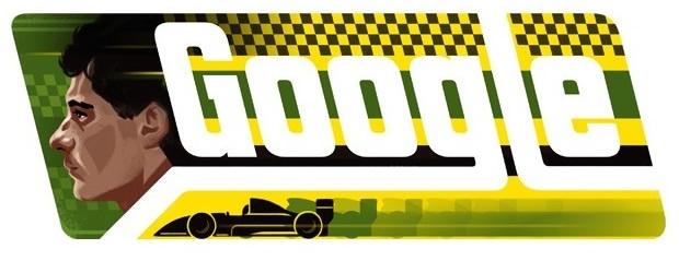Ayrton Senna Google