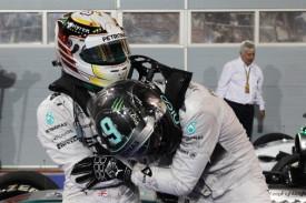 Lrwis Hamilton - Nico Rosberg