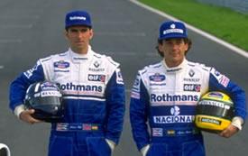 Damon Hill - Ayrton Senna