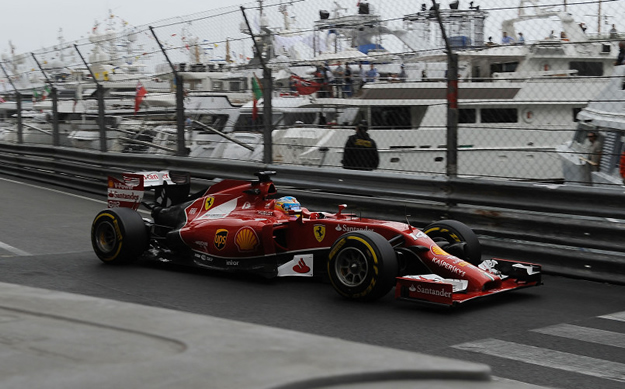 Fernando Alonso - Monaco - Ferrari