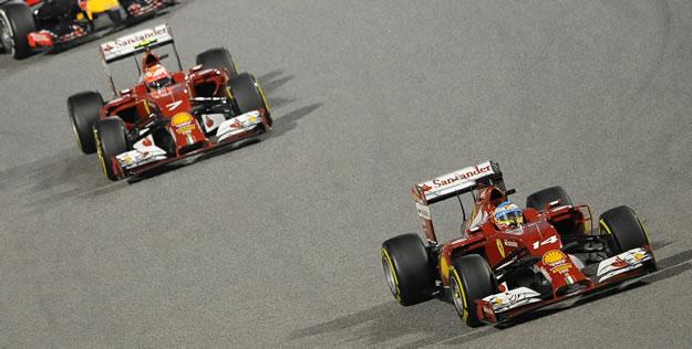 Ferrari - Alonso - Raikkonen