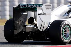 Mercedes - scarichi a trombetta