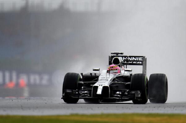 Button Silverstone Mclaren