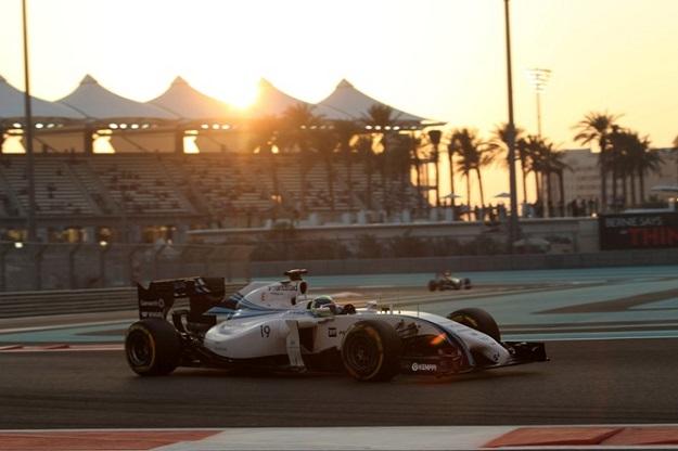 21.11.2014 - Free Practice 2, Felipe Massa (BRA) Williams F1 Team FW36