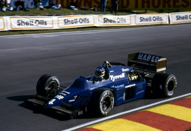Ivan Capelli - GP Europa 1985 - Tyrrell