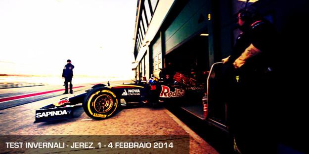 Test invernali Jerez - F1