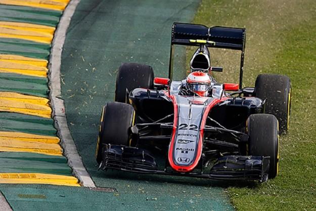 Button McLaren Australia 2015