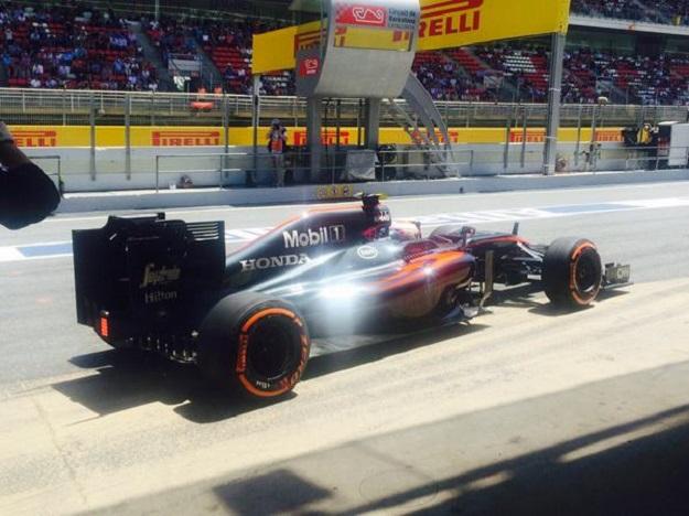 Button McLaren 2015 Spagna
