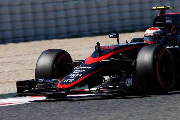 Button McLaren Spagna 2015