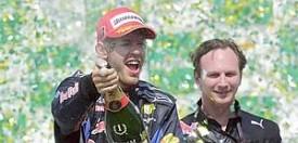 Sebastian Vettel e Christian Horner