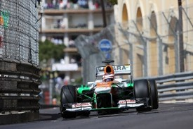 Sutil Force India Monaco