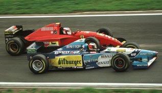 Schumacher Nurburgrin 1995