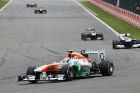 Sutil Spa Force India