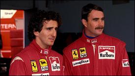 Mansell Prost Ferrari