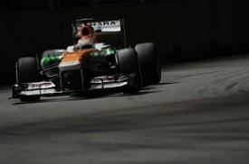 Force India Di Resta Singapore