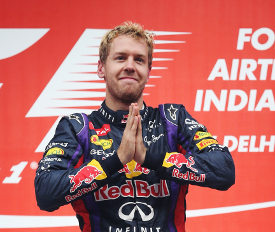 Vettel-podio