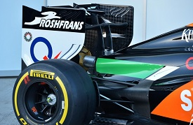 posteriore force india