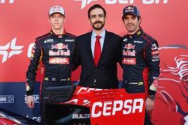 I piloti della Toro Rosso