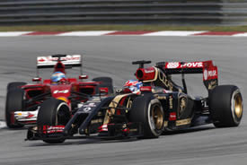 Lotus F1 Team | Romain Grosjean