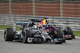 Mercedes - Hamilton - Red Bull - Vettel