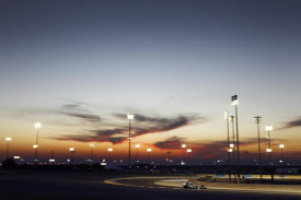 Bahrain International Circuit by night