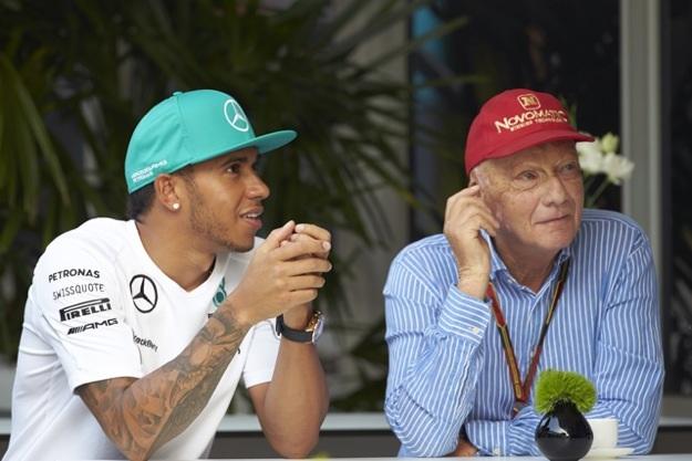 Hamilton e Lauda
