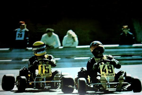 Ayrton Senna e Terry Fullerton