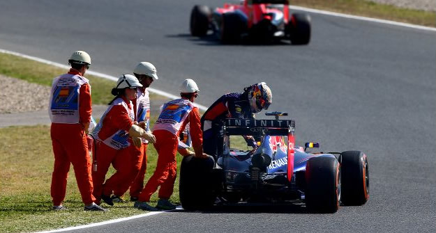 Vettel - Barcellona