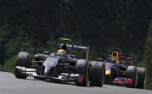 Gutierrez - Vettel | GP Austria 2014
