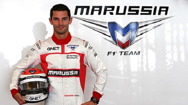 Alexander Rossi Marussia