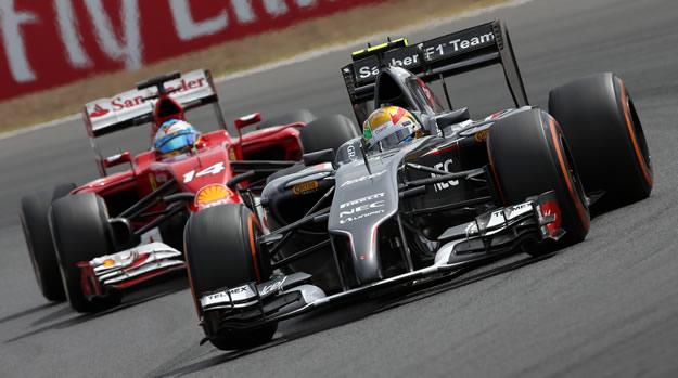 Esteban Gutierrez - Fernando Alonso
