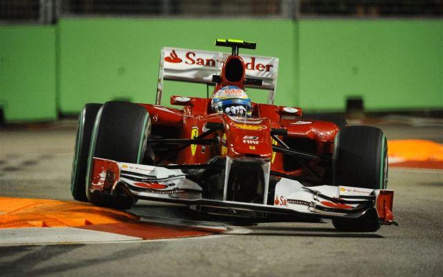 Alonso Singapore 2010