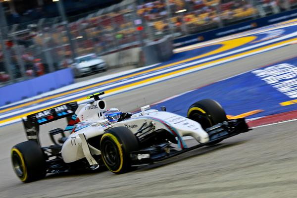 Bottas Williams Singapore 2014
