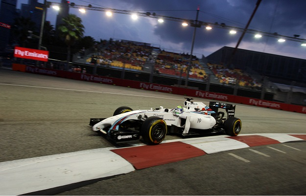 Massa Williams Singapore 2014