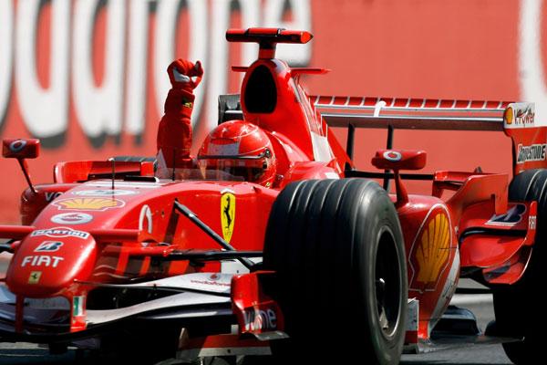 Schumacher Monza