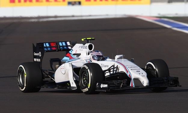 Bottas Williams Sochi