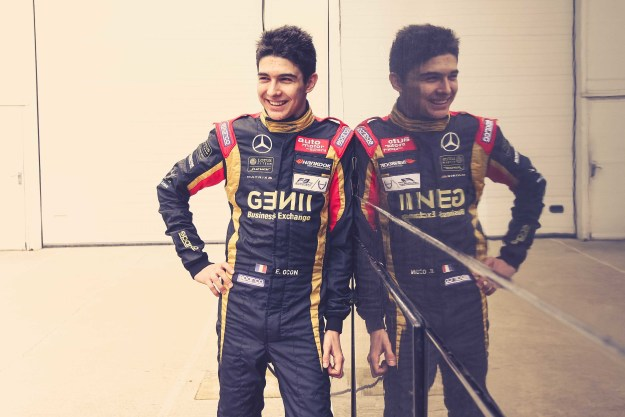 Esteban Ocon Lotus