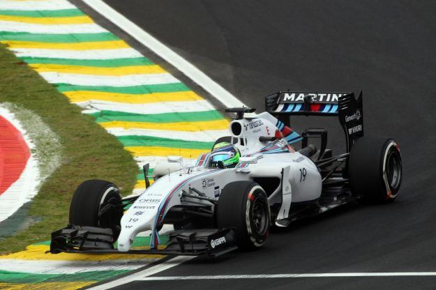 GP Brasile Massa Williams 2014
