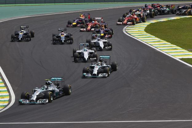 Partenza Gran Premio del Brasile 2014