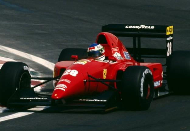 Ivan Capelli Ferrari 1992