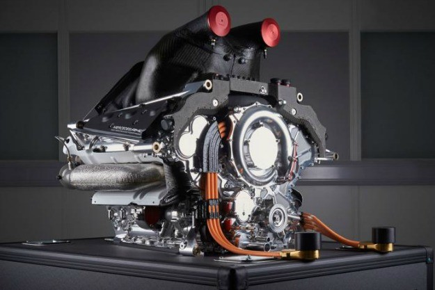 mercedes power unit