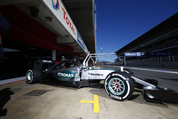 rosberg barcellona test
