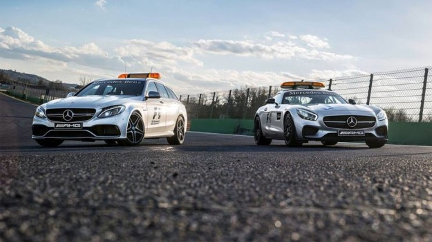 nuova vettura medica e nuova safety car mercedes gt s - e c 63 s estate
