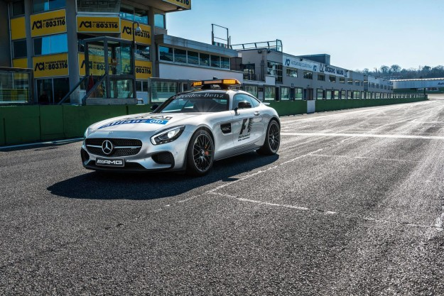 safety car nuova mercedes amg gt s