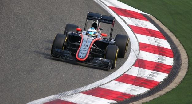 Alonso McLaren Cina 2015